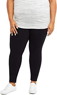 Motherhood Maternity womens Full Length French Terry Secret Fit Belly Leggings Leggings
