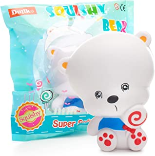 Squishies Bear Squishy Toys for Kids - Newest - Jumbo Squishies Slow Rising - Animal Squishys Stress Relief Toys - Super Soft and Slow - Kawaii Squishies - Fruit Scented Toy - Party Favors for Kids