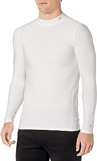 Starter Mens Men's Long Sleeve Brushed Mock Neck Compression Tee