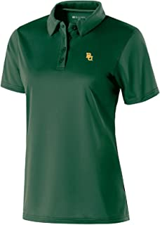 Ouray Sportswear NCAA Baylor Bears Women's Shift Polo, Small, Forest