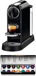 De'Longhi Nespresso Citiz En167.B Kapsül Makinesi, Yüksek Basınç Pompası Ve Aeroccino (İdeal Süt Köpürtücü) Olmadan İdeal ...