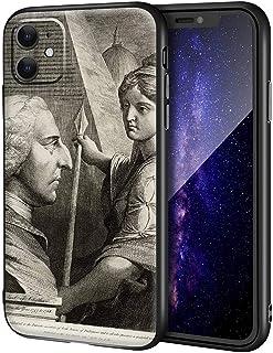 James Barry iPhone 11用ケース/ファインアート携帯電話ケース/高解像度ジクレーレベルUV複製プリント、携帯電話カバー(ウィリアムピットアールオブチャタム)