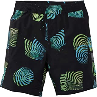 Volcom Little Boys' Nothing More Volley 17 Elastic Waist Boardshort Youth