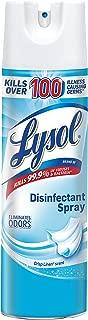 LYSOL Brand Crisp Linen Scent Disinfectant Spray, 19 Ounce - 12 per case