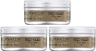 Bed Head B For Men Matte Separation Workable Wax TIGI Wax Men 3 oz (Pack of 3)
