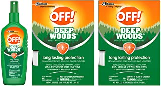 OFF! Deep Woods Variety Pack, 1 Deep Woods Spritz, 2 Deep Woods Towelettes | Mosquito Repellent | Insect Repellent | Bug Repellent | Bug Spray | Mosquito Spray | Travel Wipes | Travel Size | 1 CT