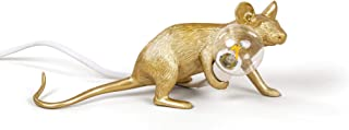 Seletti Mouse Lamp Gold Lop