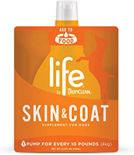 TropiClean Life Skin and Coat Supplement for Dogs