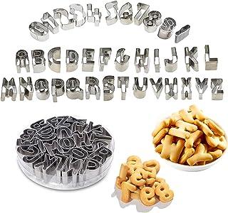 Emporte Piece Lettre Alphabet, 37 Pièces Emporte Piece Alphabet Et Chiffre Emporte Piece Patisserie Emporte Piece Patisser...