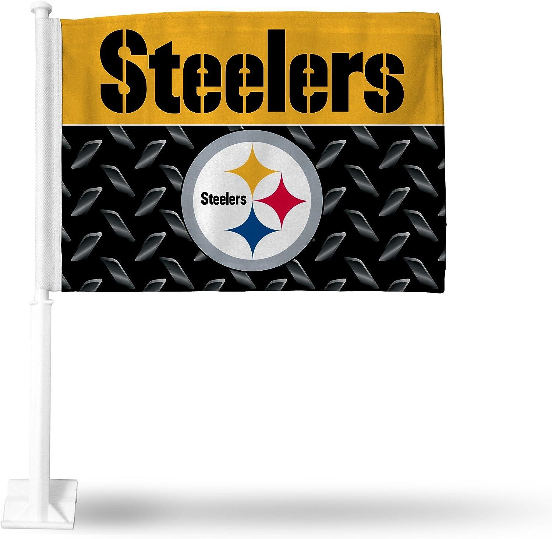 Rico Industries NCAA unisex-adult Car Flag Including Pole