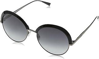 نظارات شمسية للنساء ام ام اي ال دي اي تو 9O U2Q 57 من ماكس مارا، اسود دكروثن/ بني