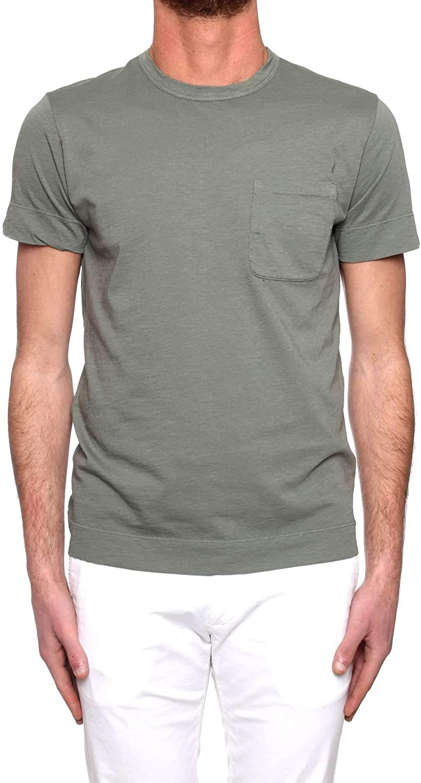 ORIGINAL VINTAGE Men's FILLERGREEN Green Cotton TShirt