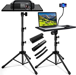 Laptop Projector Stand Tripod Stand Adjustable Height 21.7