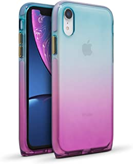 BodyGuardz - Harmony Case Compatible w/Apple iPhone Xr, Extreme Impact and Scratch Protection - iPhone Xr (Unicorn)