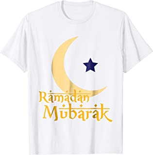 Ramadan Mubarak Kareem T-Shirt I Eid Mubarak Islam Gift