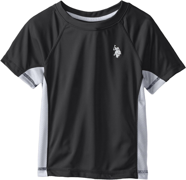 U.S. Polo Assn. Little Boys' Short Sleeve Mesh T-Shirt