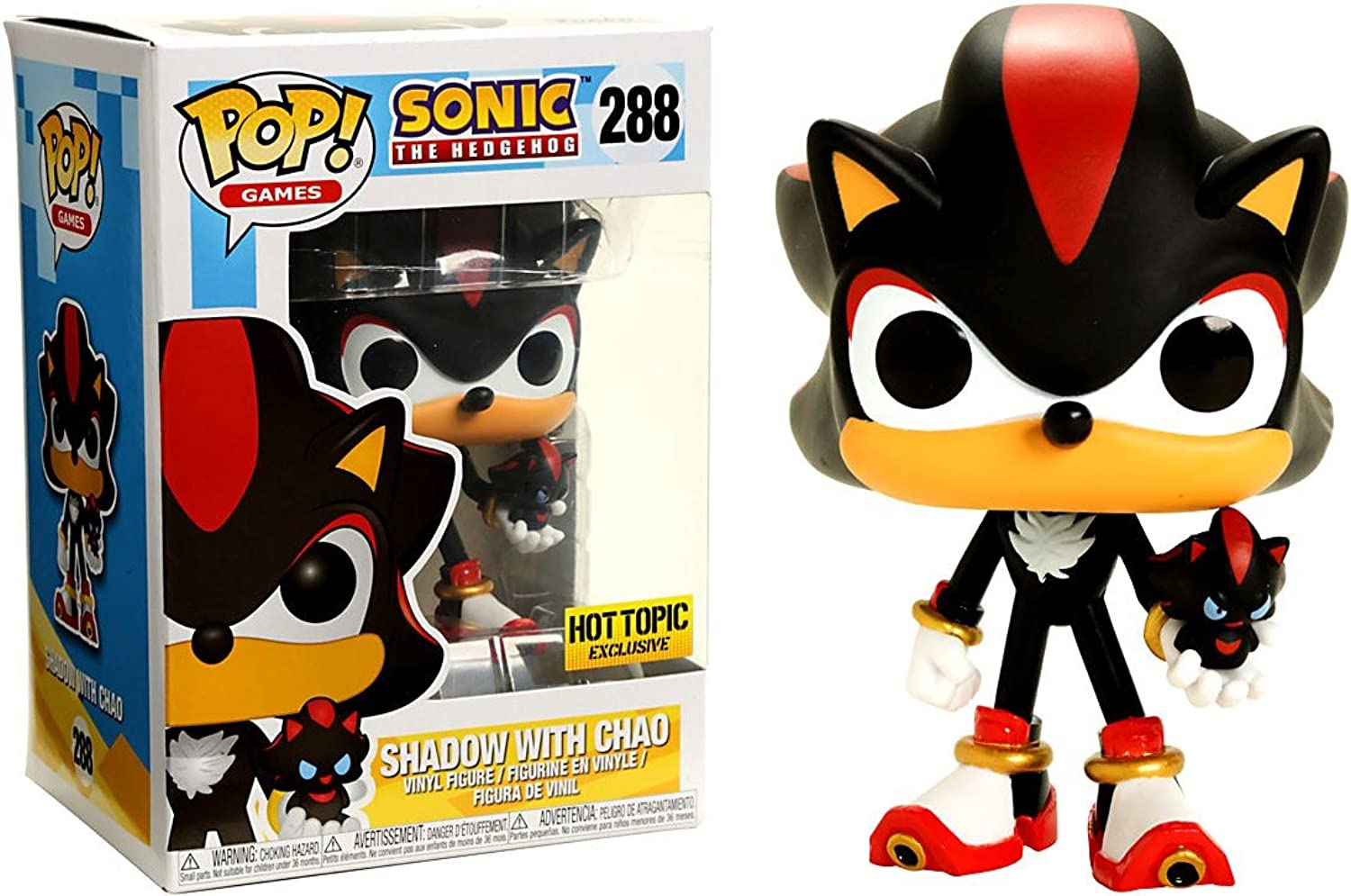 Funko POP  Sonic Shadow with Chao Exclusive