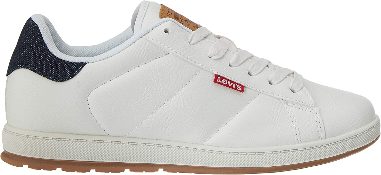 Levi's Declan Millstone 2 Tone, Baskets Homme Blanc Regular White 51