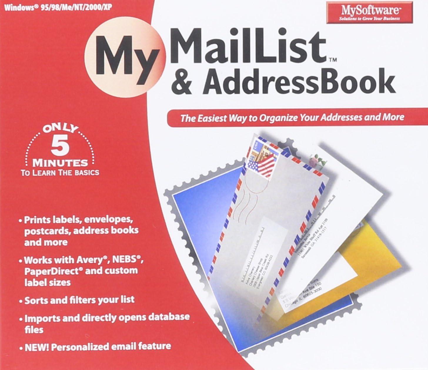 MySoftware shop Baltimore Mall Company My AddressBook MailList