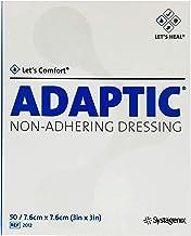 "Adaptic Non-Adherent Dressing 3"" x 3"" (Box of 50)"