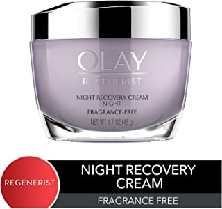 Night Cream by Olay, Regenerist Night Recovery Anti-Aging Face Moisturizer with Vitamin E, 1.7 oz