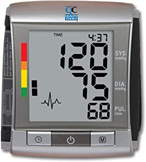 Quality Choice - Deluxe Automatic Wrist Blood Pressure Monitor