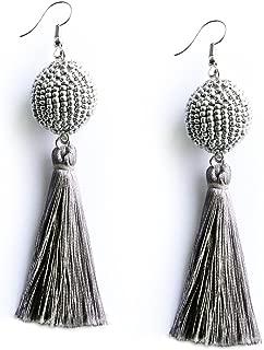 biggie bead earrings