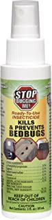 EcoClear Products 774264, Stop Bugging Me! All-Natural Non-Toxic Bed Bug Killer and Repellent, 3 oz. Non-Aerosol Fingertip Travel Spray