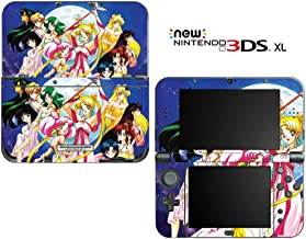 Sailor Moon Decorative Video Game Decal Cover Skin Protector for New Nintendo 3DS XL (2015 Edition)