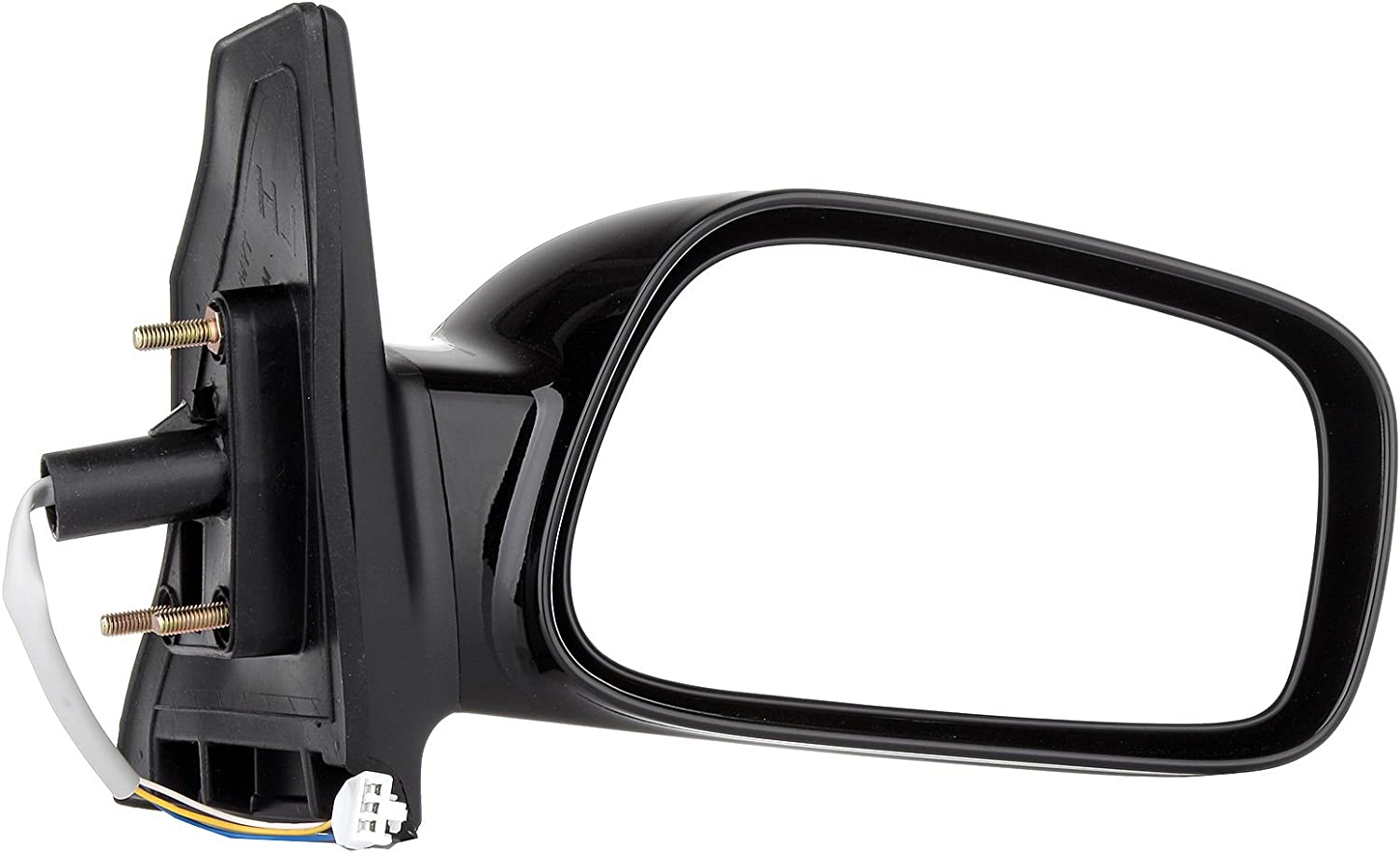 Mirror for 03-08 Toyota Corolla TO1320178 8794002380 ECCPP Power Side View Mirror Gloss Black Driver Side LH