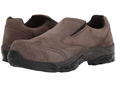 Carhartt Lightweight Carbon Nano Toe Slip-On Work Shoe (Brown Suede) Men