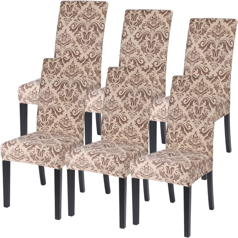 SearchI Dining Room Chair Covers Louisville-Jefferson County Mall Slipcovers Spandex Fa Gifts Set 6 of
