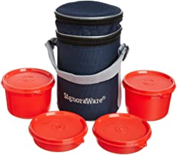 Signoraware Executive Lunch Box with Bag, Red
