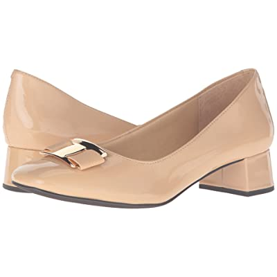 Trotters Louise (Nude Patent Leather) Women