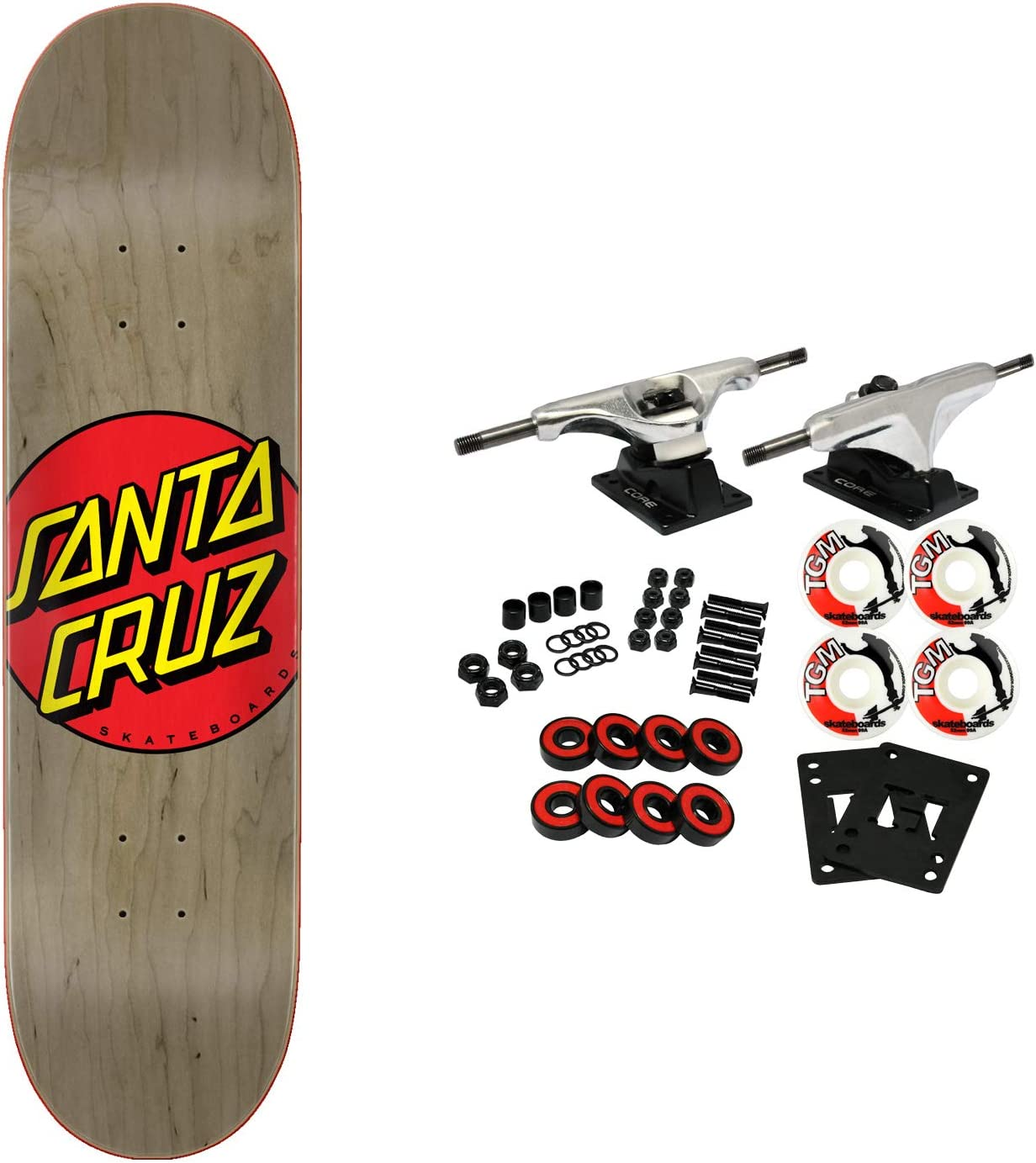 Santa Cruz Skateboard Complete Classic Dot 8.375