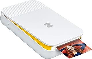 KODAK Smile Instant Digital Printer – Pop-Open Bluetooth Mini Printer for iPhone & Android – Edit, Print & Share 2x3 ZINK Photos w/FREE Smile App – White/ Yellow