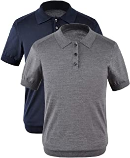 New Spring and Summer Polos Pure Color Men's Sweater Polos Shirt