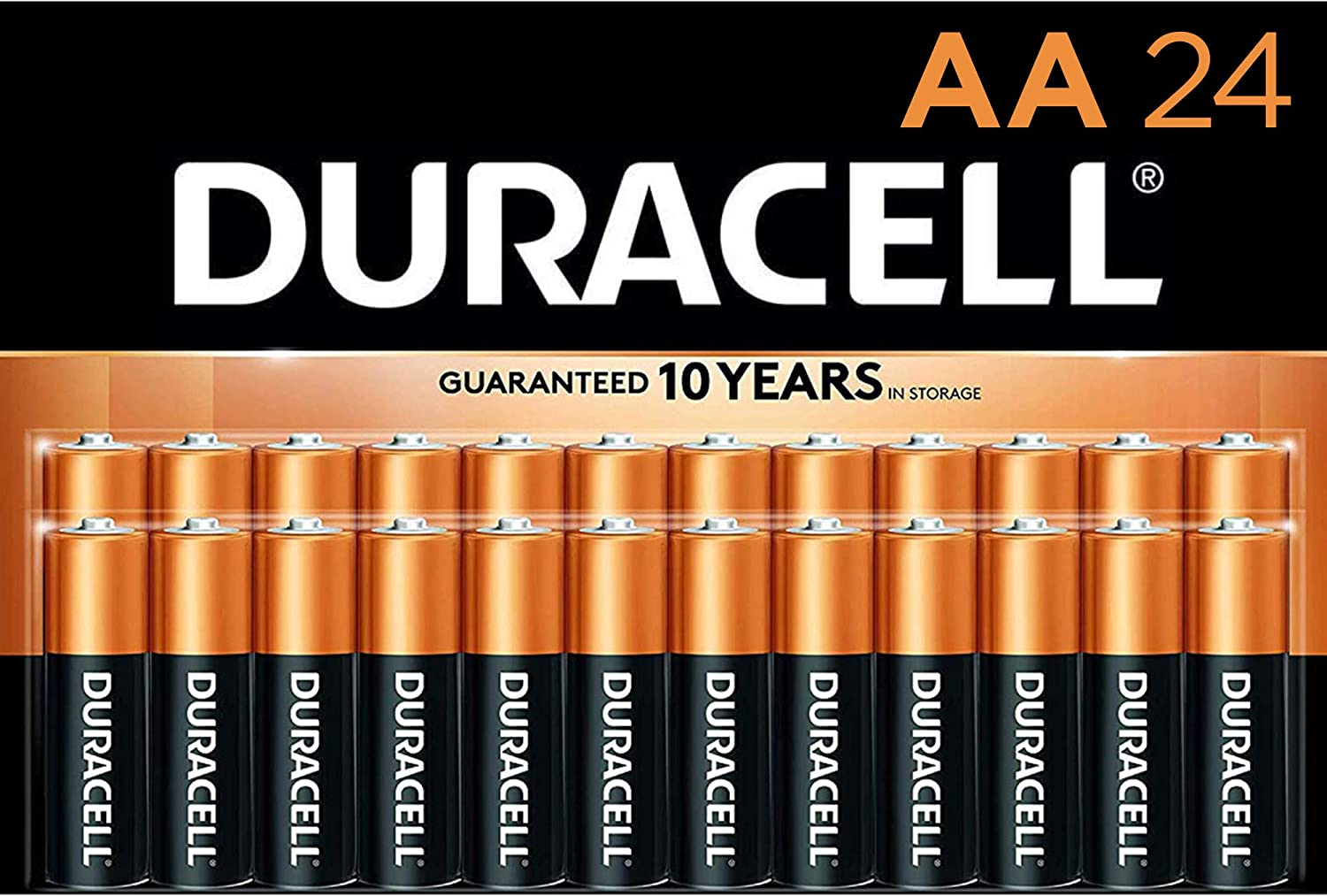 Duracell - CopperTop AA Alkaline Batteries New Orleans Mall long lasting all-p Ranking integrated 1st place