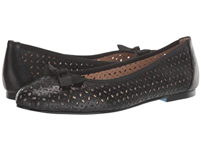 French Sole Tessa (Black Leather) Women