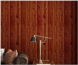 HIZLJJ ورق جدران قابل للإزالة ورق اتصال الخشب لاصق ذاتي اللصق قابل للإزالة قشر الخشب ولصق ورق الحائط ديكور غطاء جدار خمر ا...