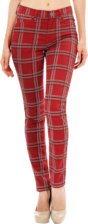 Angry Rabbit Women's Juniors Premium Mid Waist Skinny Color Jeans USA