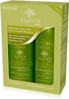 INOAR Duo Argan Oil Shampoo and Conditioner Kit 250 ml