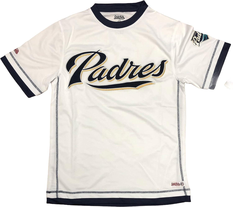 San Diego Padres Men's Luxury goods Dri Fit Japan Maker New Pullover V-Neck Jersey