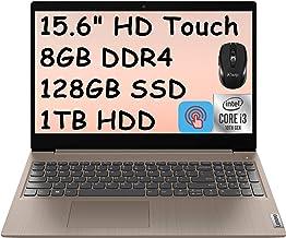"2021 Flagship Lenovo Ideapad 3 15 Laptop Computer 15.6"" HD Touchscreen Display 10th Gen Intel Core i3-1005G1 8GB DDR4 128G..."