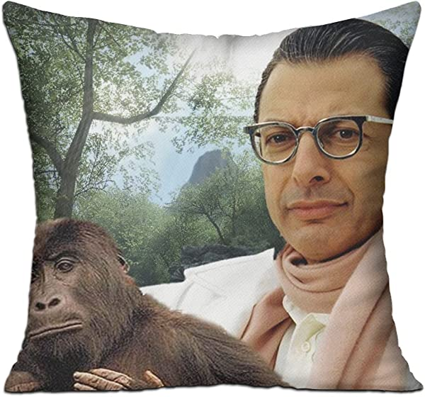 Goddess Aalto Jeff Goldblum Throw Pillow Covers Protector 18x18 Inch With Zipper Square Decorative Cushion Used For Home Car Office Bedding Couch