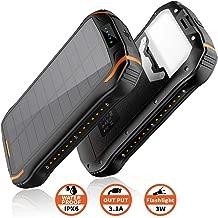 Godyluck 2W 5V Cargador Solar port/átil para 3.7V 18650 Bater/ía Recargable con Puerto USB para tel/éfono m/óvil Tableta Banco de energ/ía Cargador de Panel Solar Compacto Senderismo Viajes