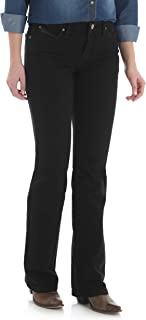 Women's Q-Baby Mid Rise Boot Cut Ultimate Riding Jean