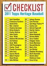 2011 topps heritage baseball checklist