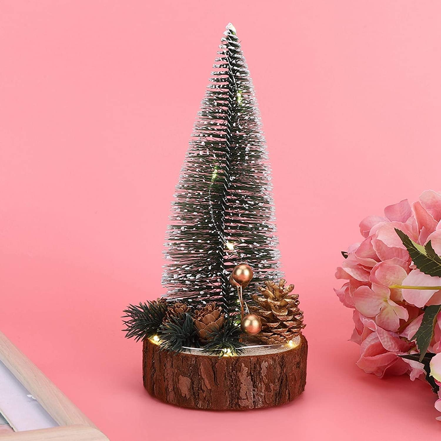 Online limited product Sale Special Price Gaeirt Mini Christmas Tree Brighten Desktop C Up