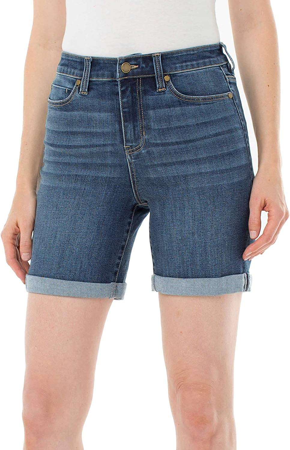 Liverpool Women's All stores are sold Kristy High Short Eco-Friendly Rise Rolled Sale Special Price